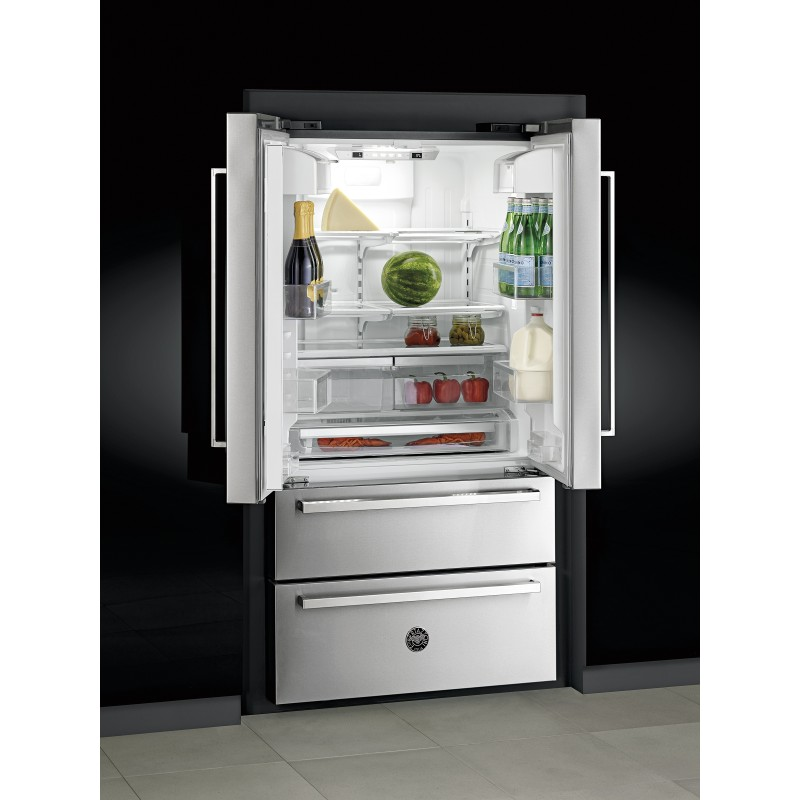 bertazzoni frigo ref90x prohk36ref 90french door libera installazione. Black Bedroom Furniture Sets. Home Design Ideas