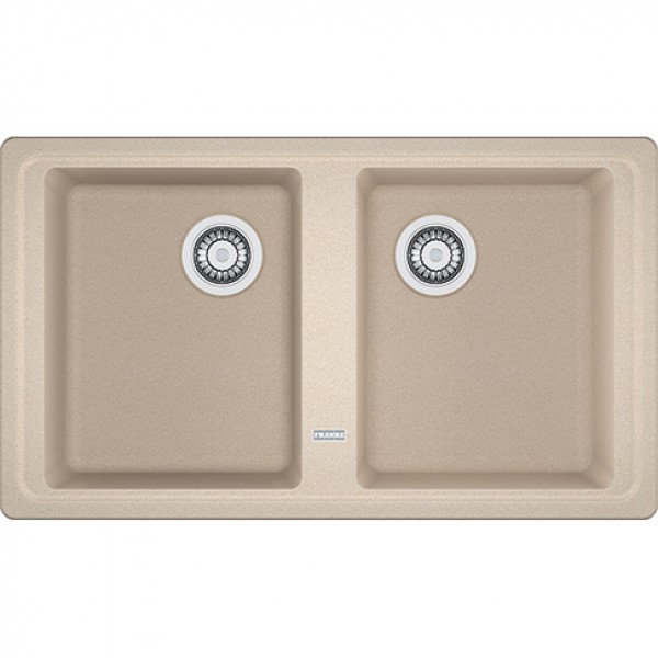 FRANKE lavello Boston BFG 620 Avena Fragranite 86x50 2 vasche